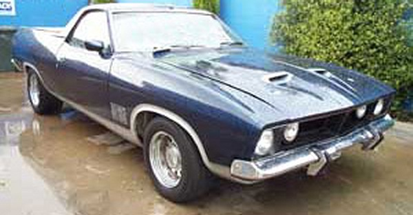 Aussie muscle on xa ford falcon interceptor